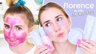 30 Day Skincare Test: Using Florence by Mills NEW LINE!!