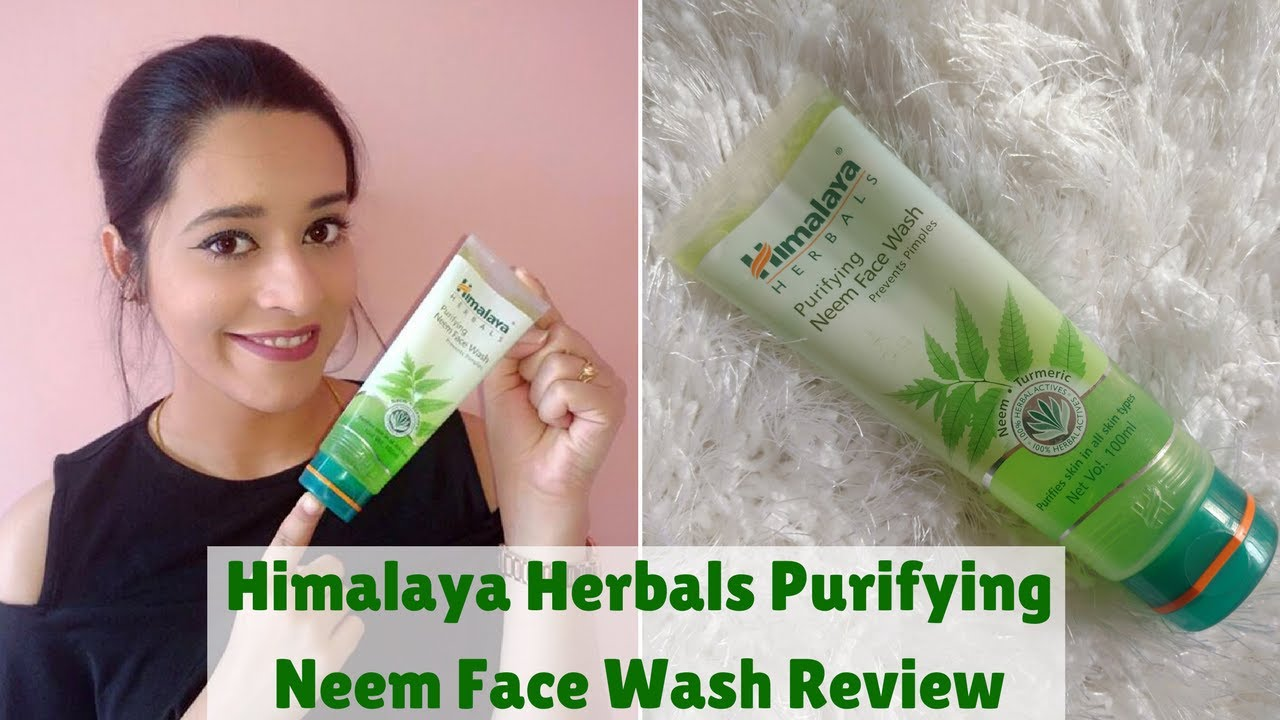 himalaya neem face wash how to use video