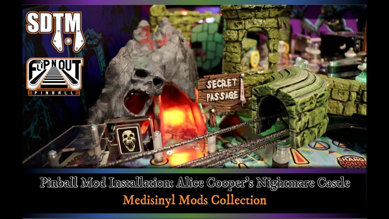 Alice Cooper Pinball Mod Collection and Installation (Medisinyl Mods)
