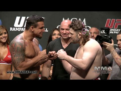 UFC 130: Frank Mir Vs Roy Nelson: Weigh-In + Face-Off