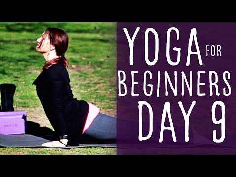 20 Minute Yoga For Beginners 30 Day Challenge Day 9 With Fig