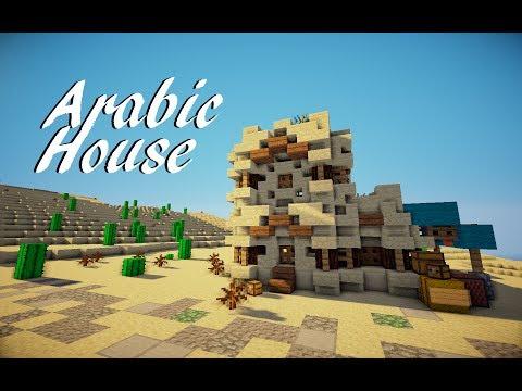 Minecraft Medieval Arabic House Tutorial (Martzert)