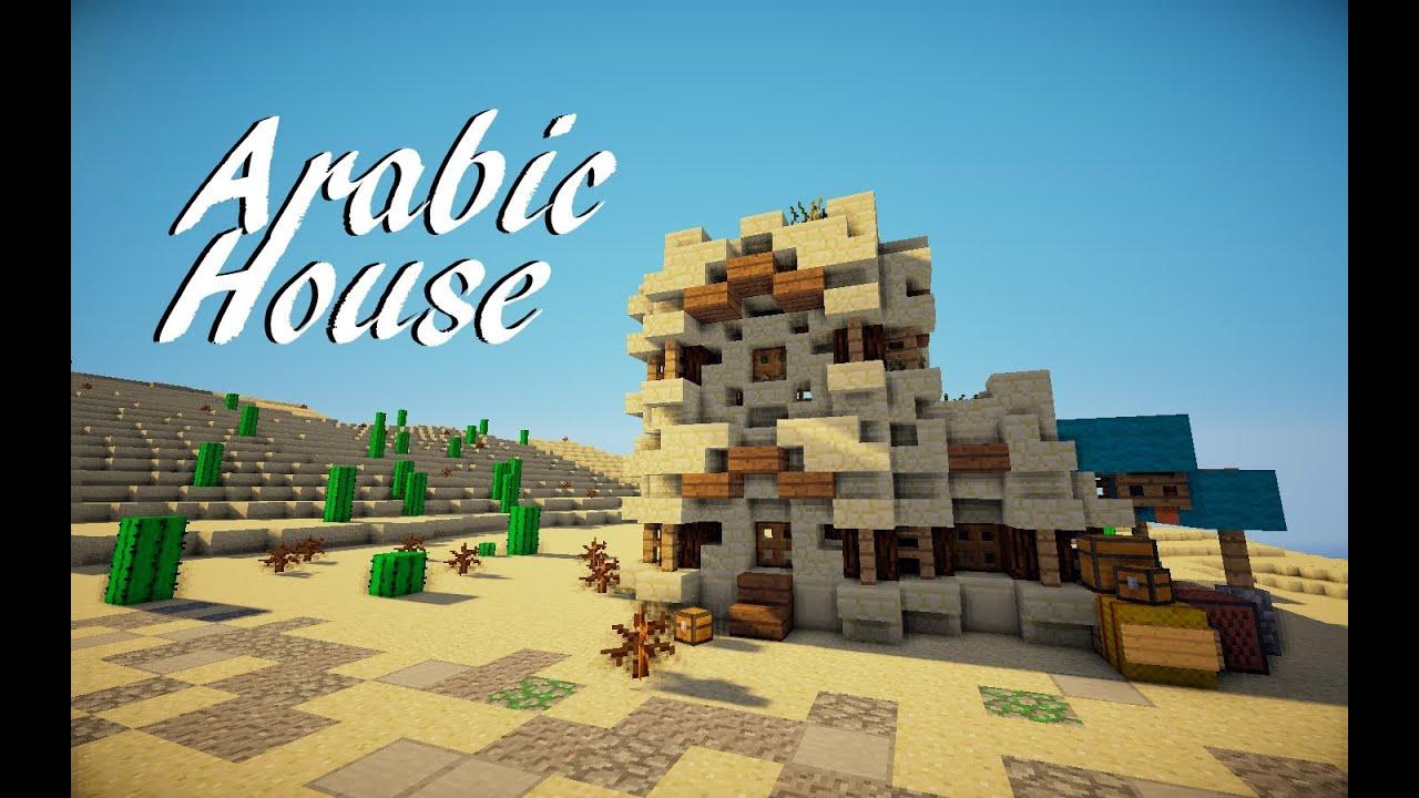 Minecraft Me val Arabic House Tutorial Martzert