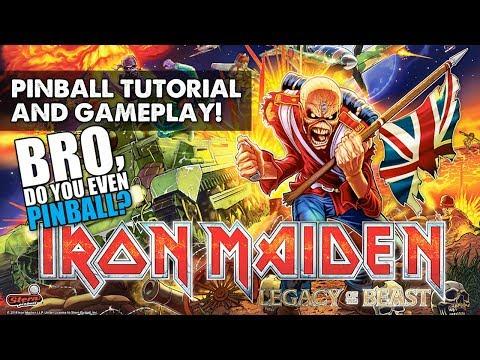 "Iron Maiden w/CHRIS BUCCI (Stern, 2018 - .97 code) 5/17/18 ""Bro, do you even pinball?"""