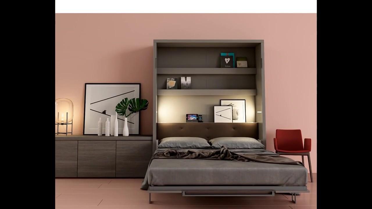 Camere da letto trasformabili in soggiorno Konvert