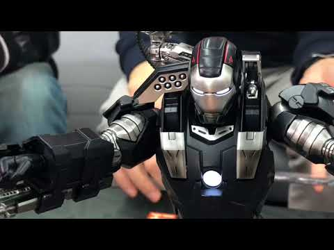 TOYSTV S5 EP08 P7「爆玩具」King Arts 1/9 Iron Man 2 Diecast War Machine Mk1 Unbox