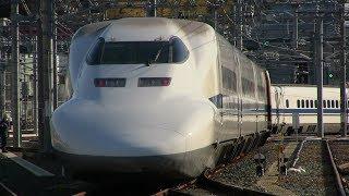 700系C60ラストナンバー編成廃車回送 浜松工場