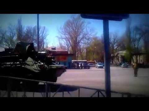 24.04 Новошахтинск Ростовская обл 15 км от границы с Украиной Военная техника
