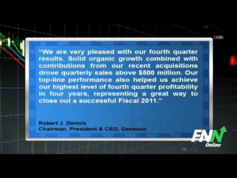 Genesco Beats Consensus Q4 2011 EPS, Issues 2012 Guidance (GCO)