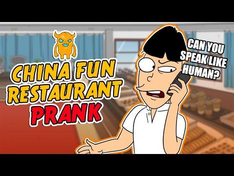 China Fun Asian Restaurant Prank Call - OwnagePranks