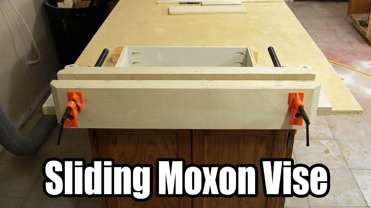 Build an Inexpensive Sliding Moxon Vise - 144 - YouTube