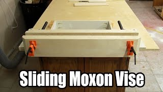 Build An Inexpensive Sliding Moxon Vise - 144