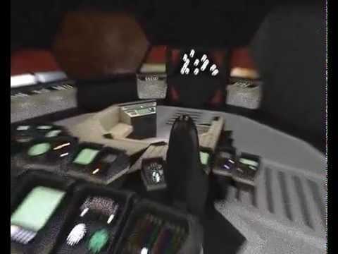blakes 7 liberator bridge flythrough youtube