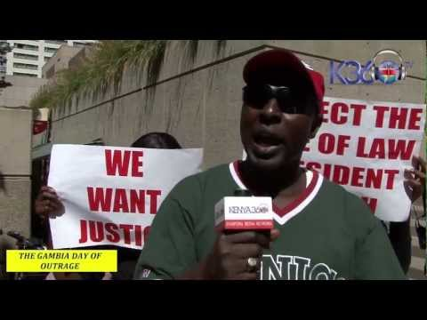 THE GAMBIAN DAY OF OUTRAGE