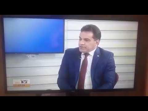 Deputado federal Josimar Maranhãozinho em entrevista na TV Mirante