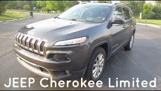 2016 JEEP Cherokee Limited 4x4 | Full Rental Car Review and Test Drive