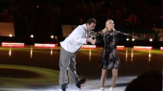 Лед и пламень: Антон Сихарулидзе и Елена Бережная