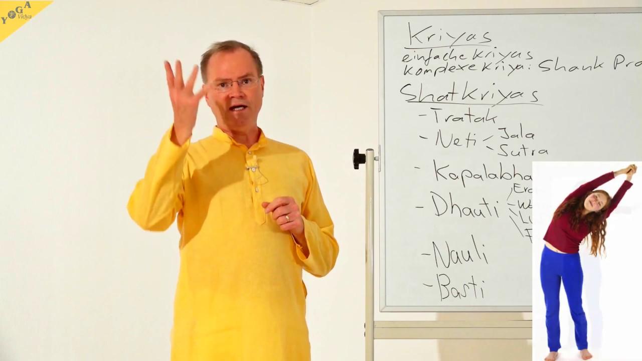 Shat Kriyas - die 6 Reinigungsübungen - YVS100 - YouTube