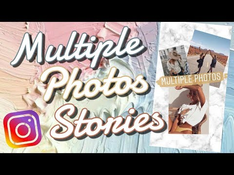 Add Multiple Photos To Instagram Story HACK (within App)