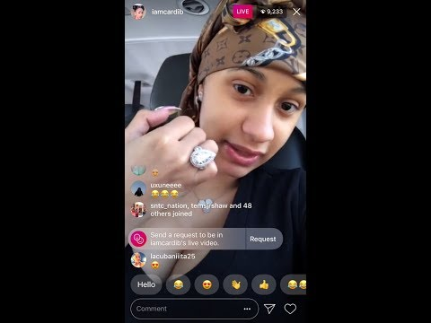 Cardi B Tells Story About Offset Breaking Her Heart