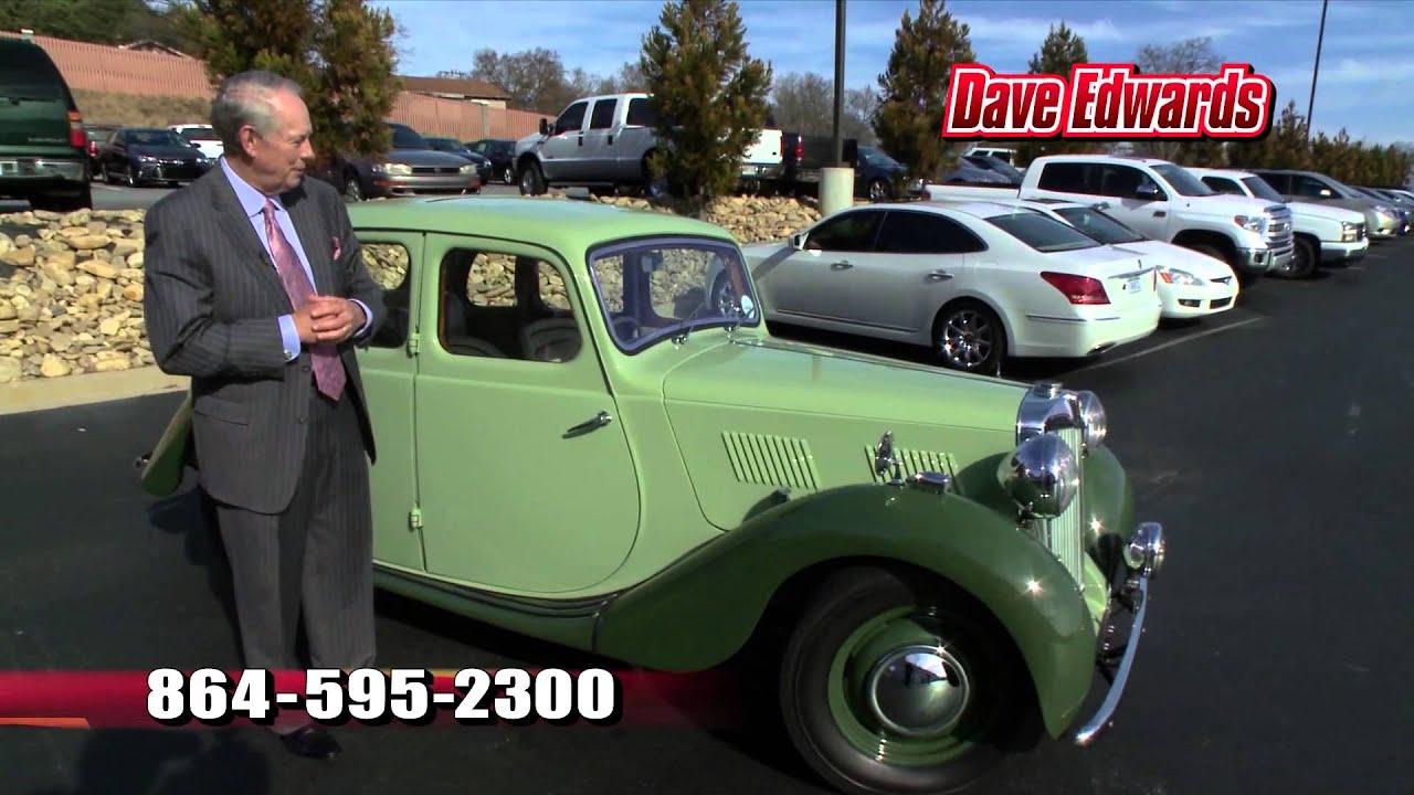 1947 MG Y Type (YA) Dave Edwards Toyota Spartanburg SC Upstate SC