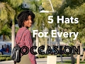 #stylefile | 5 Hats For Every Occasion | FASHION