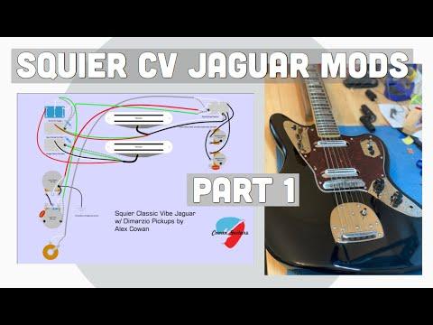 Squier Classic Vibe Jaguar Mods Part 1: Mods and Setup