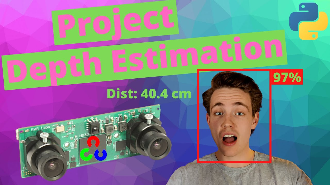 How to Estimate Depth with Stereo Vision in OpenCV Python - 3D Object Detection