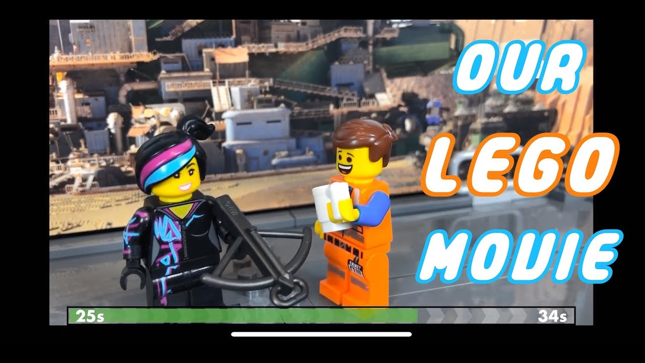 We Made A Lego Movie Youtube