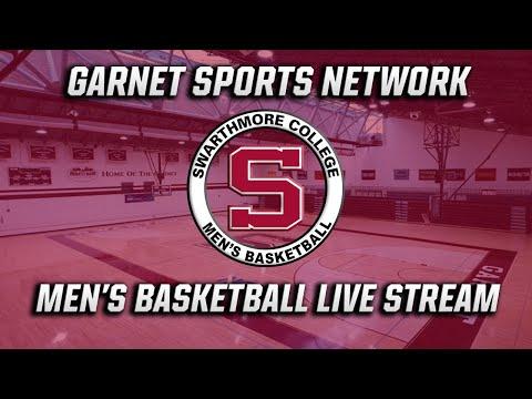 Swarthmore Men's Basketball Vs. Johns Hopkins (Live Stream)