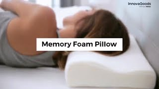 innovagoods wellness relax memory foam pillow