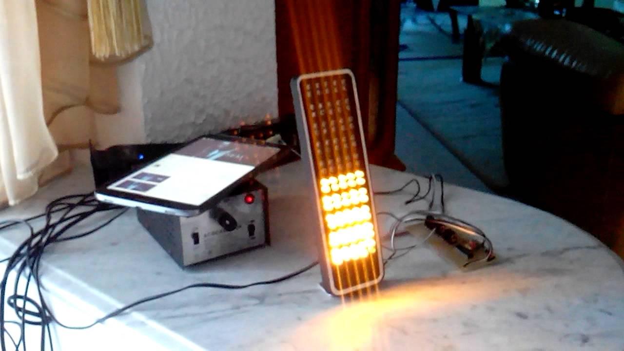Led Vu Meter By Majd Turki Audio Spectrum Analyzer Circuit 400led