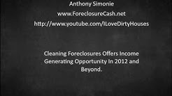 Foreclosure Cleaning Services Make Money Cleaning Foreclosures In 2012 and Beyond