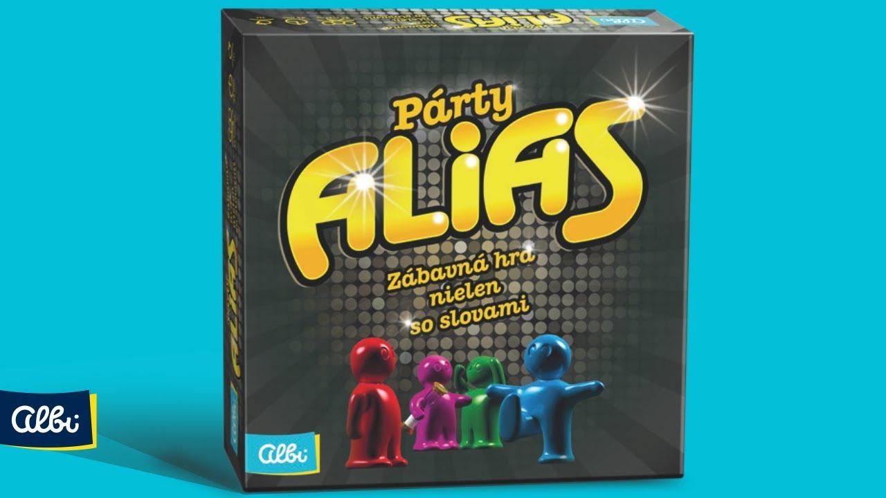 35967b552 Spoločenské hry: Párty Alias (slovenská verzia) (Albi) | Martinus
