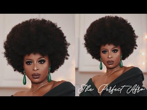 My AFRO tutorial (NO SHRINKAGE) | 4C Natural Hair
