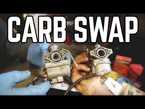 Mini 125cc ATV Performance Carb & Thrash