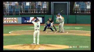 2010 ALDS Game 5  Texas Rangers at Tampa Bay Rays on MLB 10 The Show on PS3