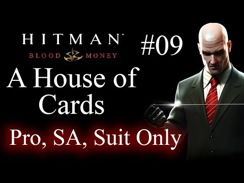 Hitman Blood Money A House of Cards SA, Suit Only (pro) #09