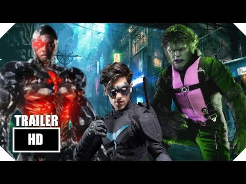 TEEN TITANS - ( 2018 Movie )      Official Fan Made