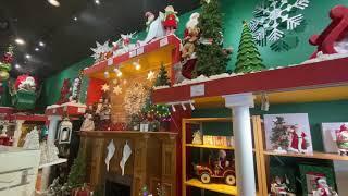 Santa Claus Christmas Store Tour