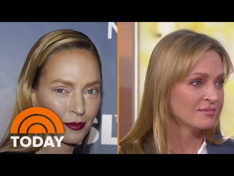 Uma Thurman On New Look: 'Guess Nobody Liked My Makeup'  TODAY