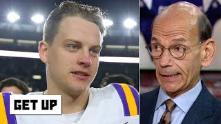 LSU won't be ranked No. 1 if Ohio State beats Penn State - Paul Finebaum | Get Up