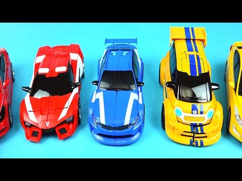TOBOT cars - A B C transformers and more car toys - ToyPudding 또봇 & 헬로카봇