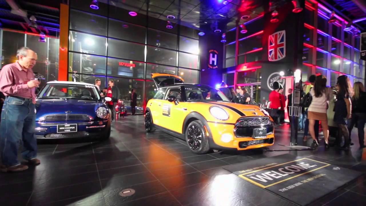 2014 Mini F56 Launch Party Mini Downtown Dealership In Toronto