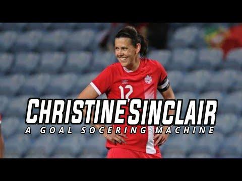 Christine Sinclair  canada goal scoring machine