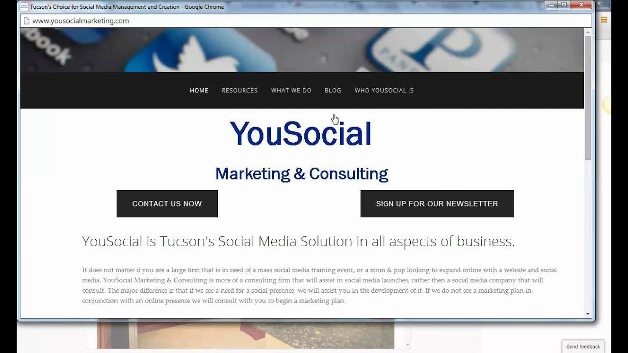 Craigslist Ad Alternatives - Tucson Social Media - - YouTube