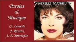 Chanter - Mireille Mathieu