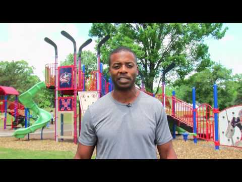 National Recreation and Parks Month with Blue Jackets Alumnus Jean-Luc Grand-Pierre