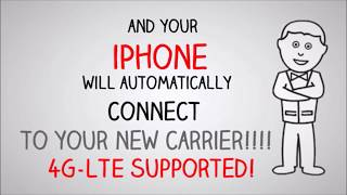 How to unlock any iPhone from any carrier under 1 minute?