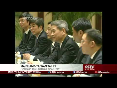 Historic China-Taiwan Talks Kick Off
